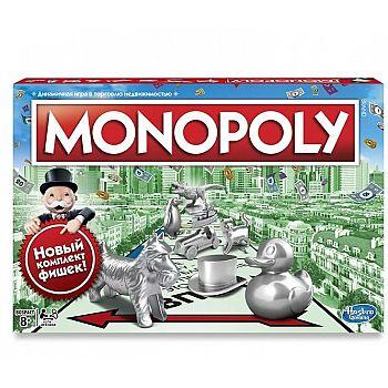 Настольная игра Hasbro Gaming Монополия классическая Обновленная