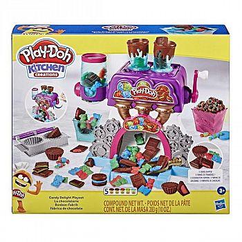 Набор для творчества Hasbro Play-Doh для лепки Конфетная фабрика