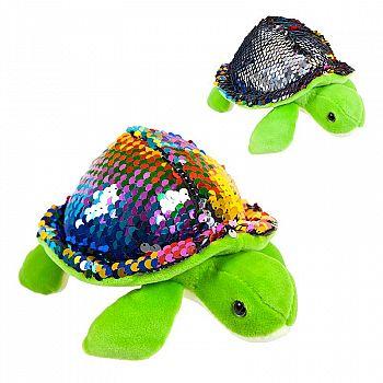 Черепаха с пайетками 17см