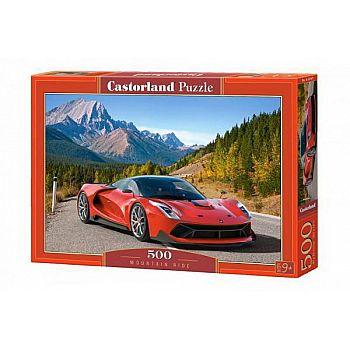 Пазл Castorland 500 деталей Авто в горах