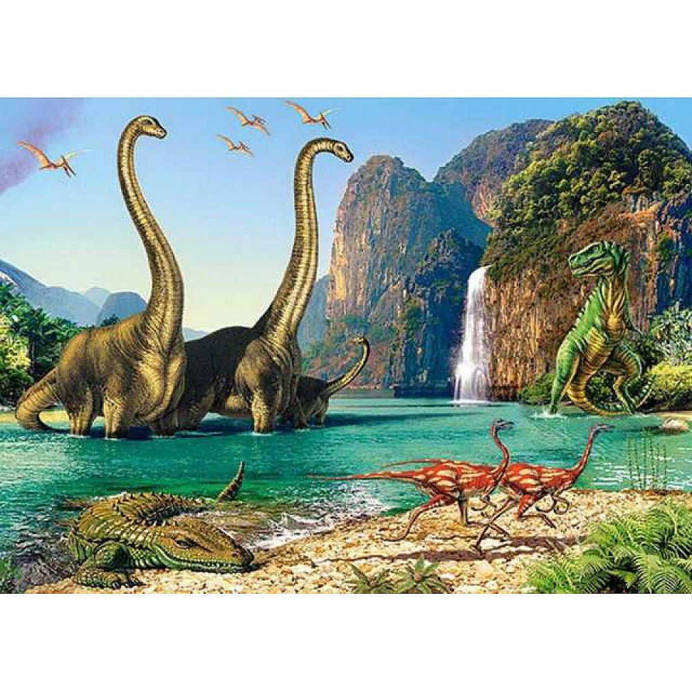 Пазл Castorland 60 деталей Динозавры