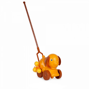 Игрушка-каталка Русский Стиль Дружок, на палочке