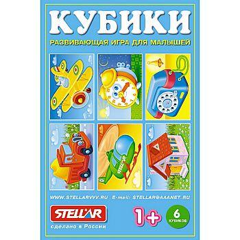 Кубики-картинки №22 (любимые игрушки)