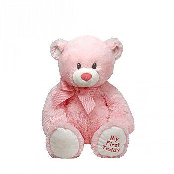 Мягкая игрушка TY Classic Медвежонок My First Teddy (розовый) 20 см