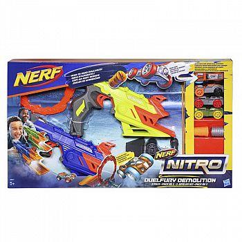 Игровой набор Hasbro NERF Нитро Пусковая Дуалфьюри