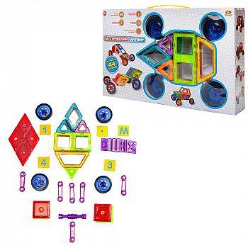 """Конструктор """"Магический магнит"""", не менее 44 деталей, в коробке"""