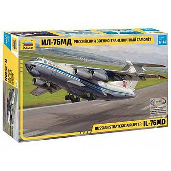 Сборная модель ZVEZDA Российский военно-транспортный самолёт Ил-76МД