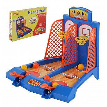 Настольная игра ПОЛЕСЬЕ Баскетбол для 2-х игроков (в коробке) 41,5х5х28 см.