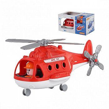 Вертолёт пожарный Альфа (в коробке) 29х16,5х15,5 см.