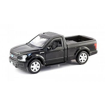 Машинка металлическая Uni-Fortune RMZ City 1:32 Ford F150 2018 (цвет черный)