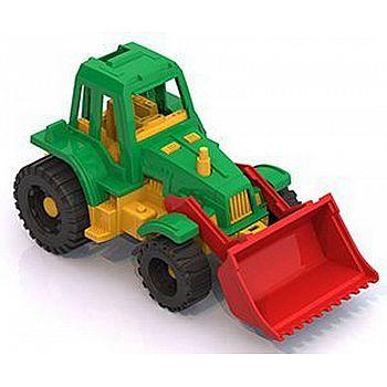 """Трактор """"Ижора"""" с грейдером 11х20,5х11 см"""