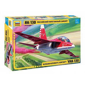 Сборная модель ZVEZDA Российский пилотажный самолёт Як-130