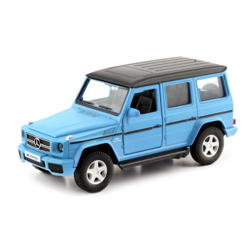 Машинка металлическая Uni-Fortune RMZ City 1:35 MERCEDES BENZ G63, Цвет матовый голубой
