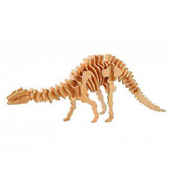 """Модель деревянная сборная Динозавры """"Апатозавр"""" (2пласт.)"""