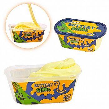 """Слайм Junfa Жвачка для рук """"Buttery Slime"""" Сливочное масло, цвет бледно-желтый"""