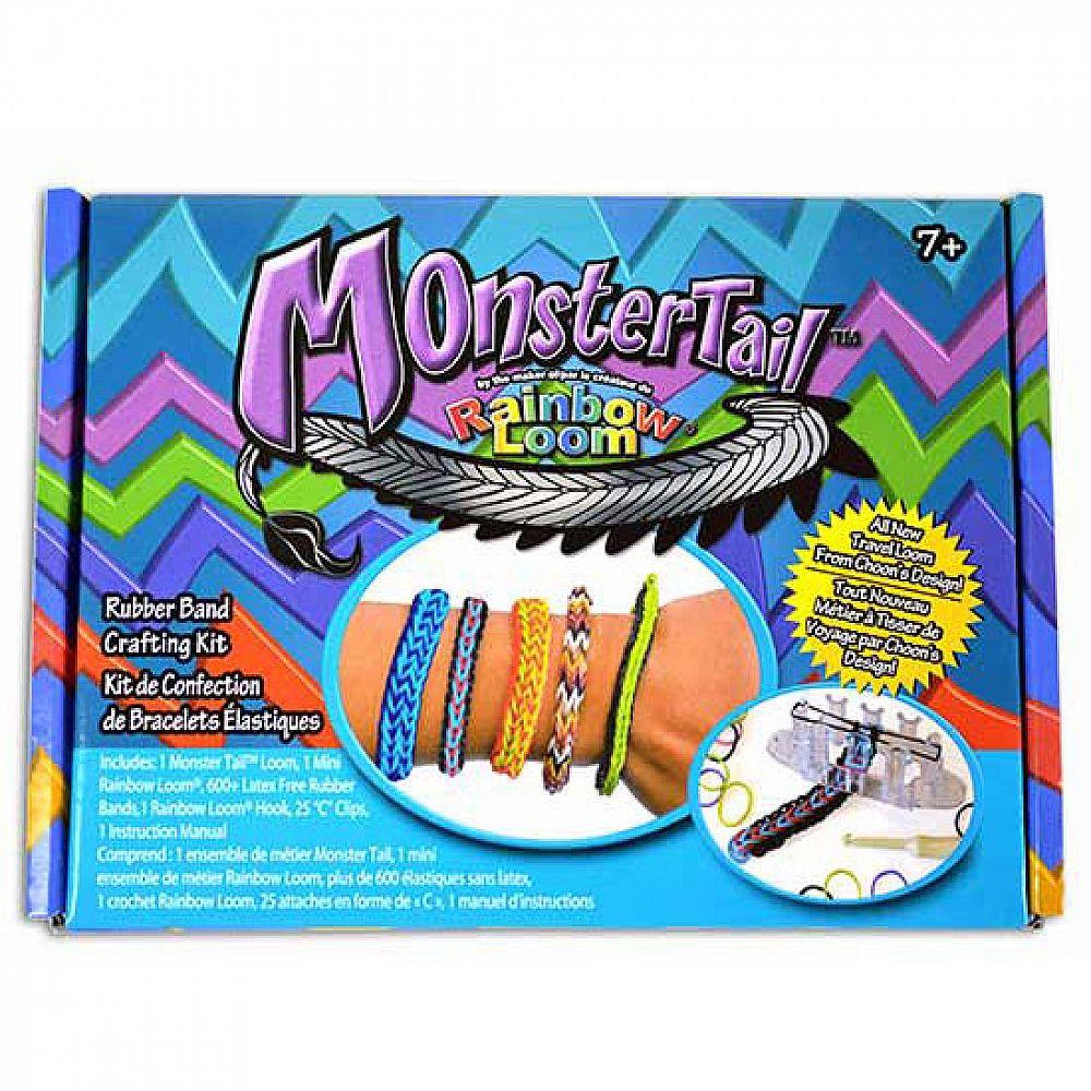 Набор для плетения браслетов из резиночек МонстрТейл компактный