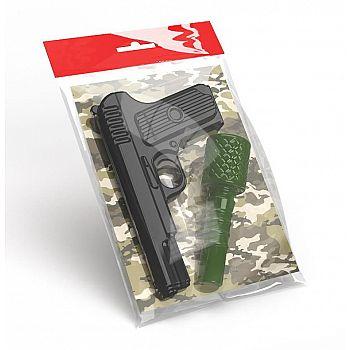 Оружие пластиковое Десятое королевство Пистолет Граната