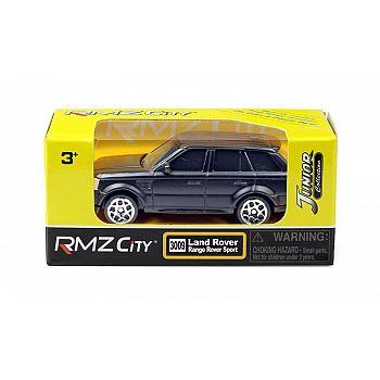 Машинка металлическая Uni-Fortune RMZ City 1:64 Land Rover Range Rover Sport, без механизмов, черный матовый цвет
