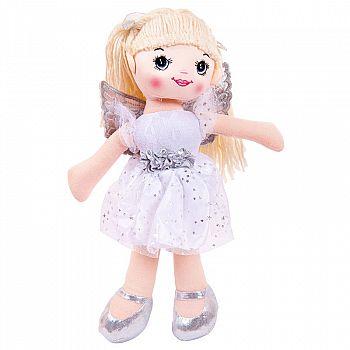 Кукла ABtoys Мягкое сердце, мягконабивная, балерина, 30 см, цвет белый