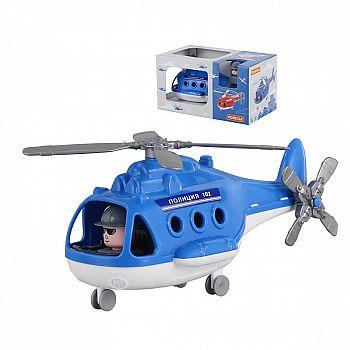 Вертолёт полиция Альфа (в коробке) 29х16,5х15,5 см.