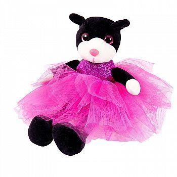 Кошка в платье, 20 см игрушка мягкая
