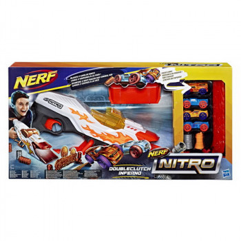 Игровой набор Hasbro NERF Нитро Пусковая Даблбрейк