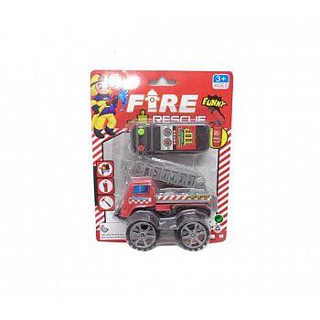 Машина пожарная на пульте управления