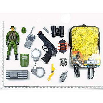 Набор игровой военный в рюкзачке