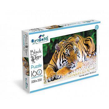 Пазл ORIGAMI Год тигра На отдыхе 160 элементов