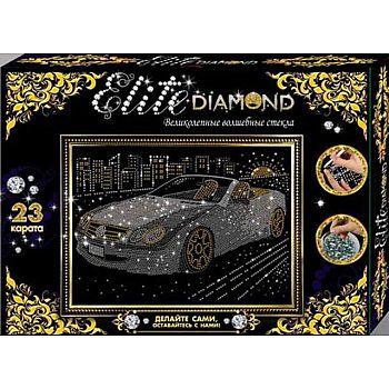 """Набор для творчества. Серия Стразы -""""Elite Diamond"""" Автомобиль"""