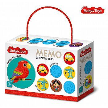 Настольная игра Десятое королевство Baby Toys МЕМО Для мальчишек