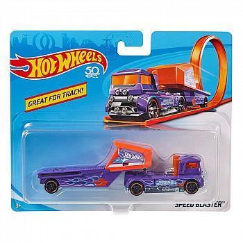 Машинка Mattel Hot Wheels Трейлер с прицепом