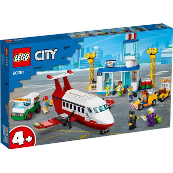 Конструктор LEGO CITY Airport Городской аэропорт