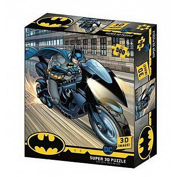 Пазл Prime 3D Бэтцикл 500 элементов