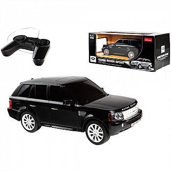Машина р/у 1:24 Range Rover Sport, 20см, черный 27MHZ