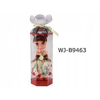 Кукла ABtoys Emily мини в прозрачной коробочке (темные волосы) , 16,5см