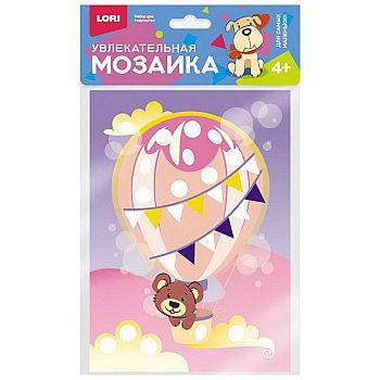 """Мозаика увлекательная (набор малый) """"Мишка на шаре"""""""