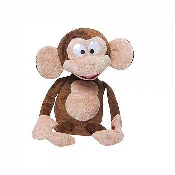 Игрушка интерактивная IMC Toys Club Petz Funny Обезьянка Fufris интерактивная коричневая, смеётся и подпрыгивает, звуковые эффекты, цвет коричневый, м