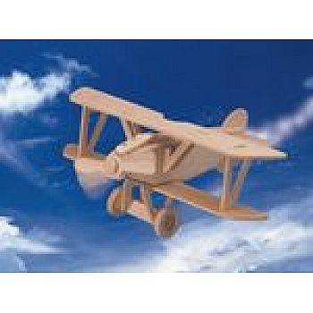 Сборная деревянная модель Чудо-Дерево Авиация Самолет Альбатрос (2 пластины)