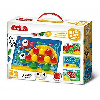 Мозаика для самых маленьких BABY TOYS d40/5 цв/32 эл