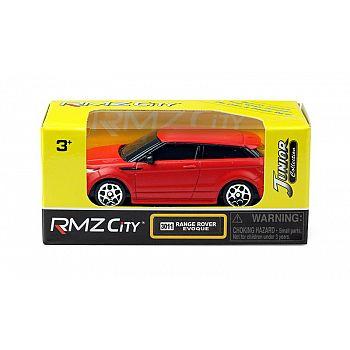 Машинка металлическая Uni-Fortune RMZ City 1:64 Range Rover Evoque, без механизмов, красный матовый цвет