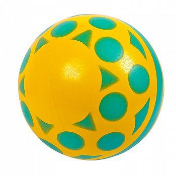 "Мяч д.100 мм ""Солнышко ""окрашенный по трафарету"