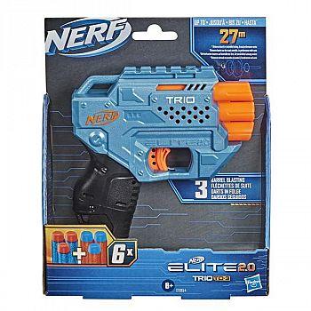 Бластер Hasbro NERF ELITE 2.0. Трио