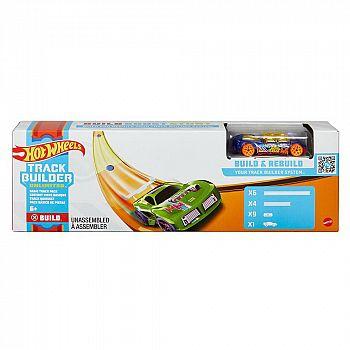 Игровой набор Mattel Hot Wheels Конструктор Трасс c машинкой
