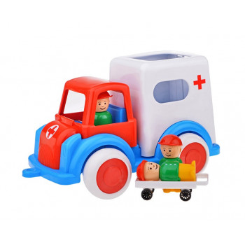 Машина Скорая помощь (Детский сад) 28 см.