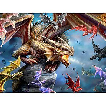 Пазл Prime 3D Клан дракона 500 элементов