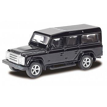 Машинка металлическая Uni-Fortune RMZ City 1:64 Land Rover Defender, Цвет Чёрный