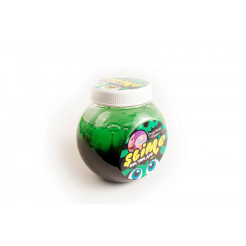 Лизун Slime Mega Mix черный + зеленый 500 гр