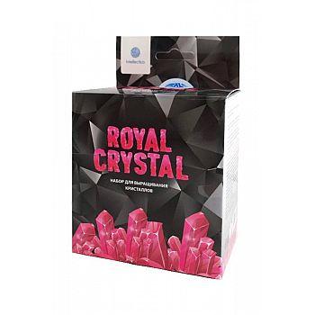 Набор для опытов Intellectico Royal Crystal кристалл розовый