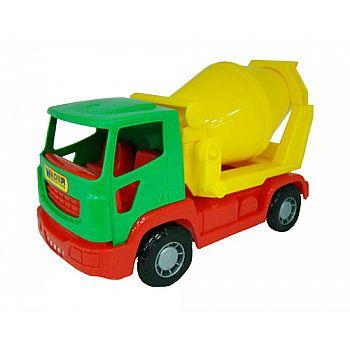 Автомобиль бетоновоз Агат 26х12,5х16 см.